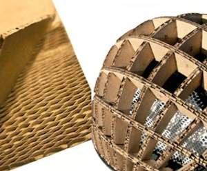corrugated paper for helmet-BBC
