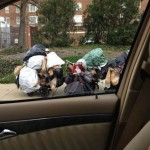 homeless bag lady Dorothy-FBphoto-ConnieMiller