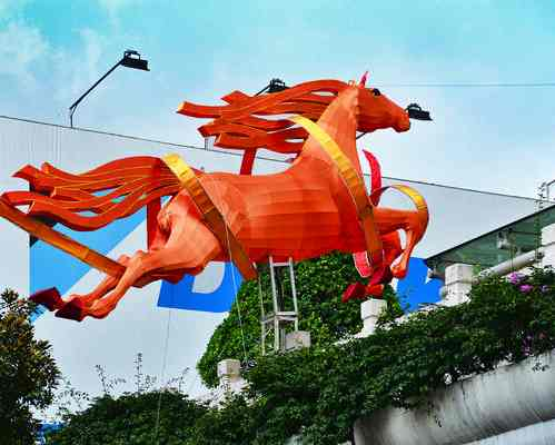 horse Chinese New Year display-Flickr-CC-chooyutshing