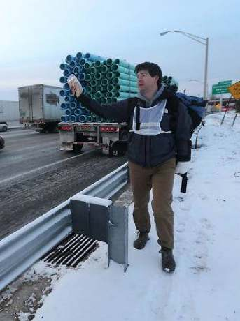 sandwiches handed out on highway-FBphoto-WSBtv