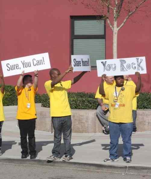 signs of encouragement-Riverside-Schools-photo
