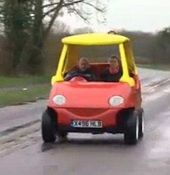 Lil Tikes car-BBCvideo