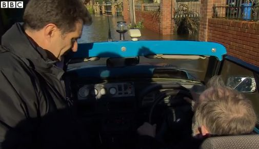amphibious car-BBC video