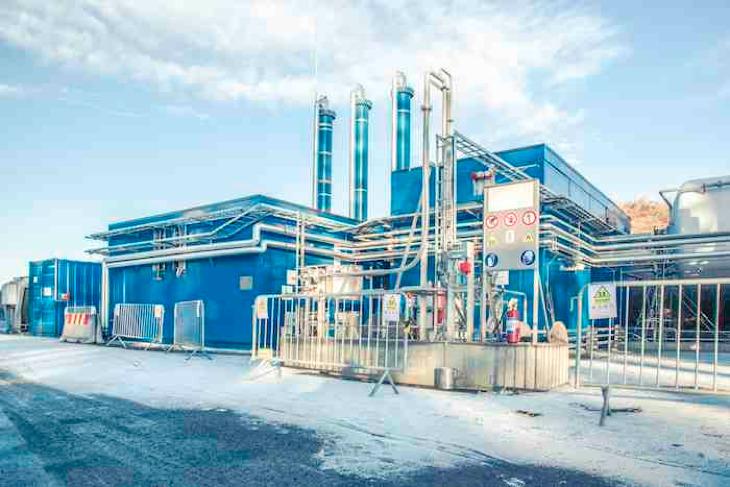 biogas plant Norway-Wartsila