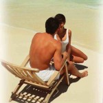 couple in beach chair Photo by Sun Star
