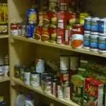 food pantry shelf
