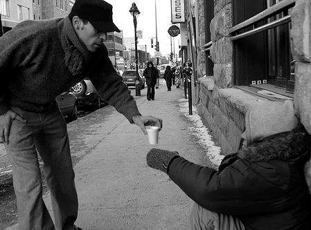 kindness coffee to a homeless guy-RAKNominations-FB