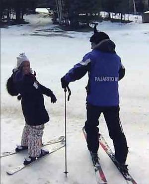 skiing Native American-Suze Chaffee
