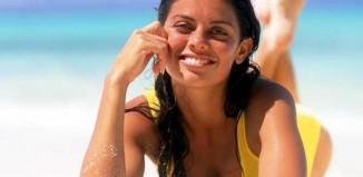 Beach loafing woman-Photo by Sun Star