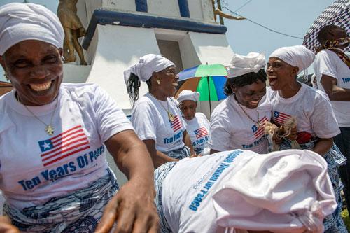 Liberian women-Happy-UNMIL-Staton Winter