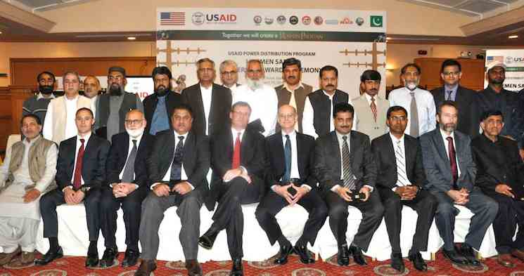 Pakistani US training graduates-USAID