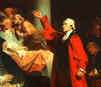 Patrick-Henry speaks to VA House-1765-painting-Peter_F_Rothermel