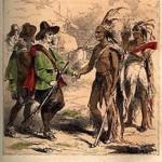 Samoset_meets-the_Pilgrims-drawing-1853