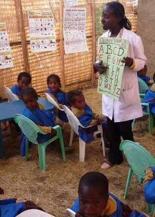 classroom Africa-USAID