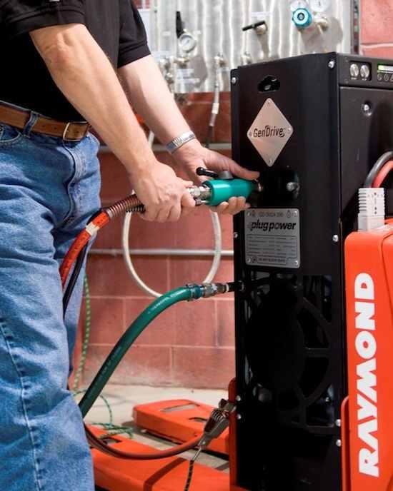 hydrogen fuel cells by Raymond