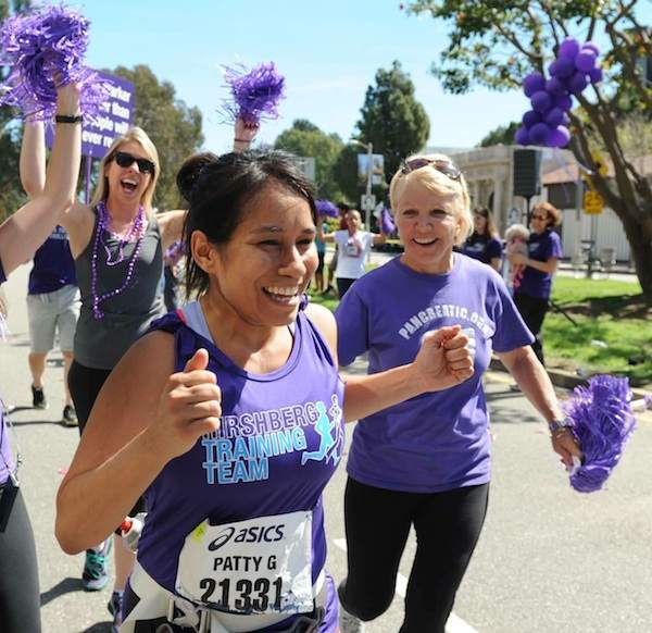 marathon runner purple-cheerleaders-Angela Daves-Haley