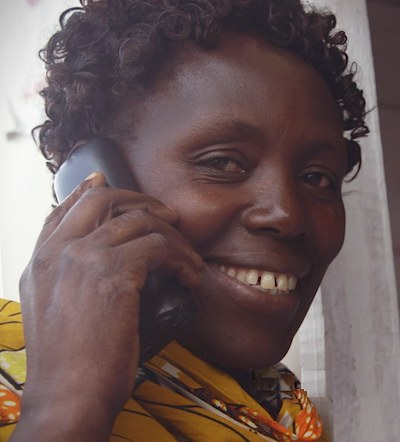 telephone call African mom Vodafone Firsts