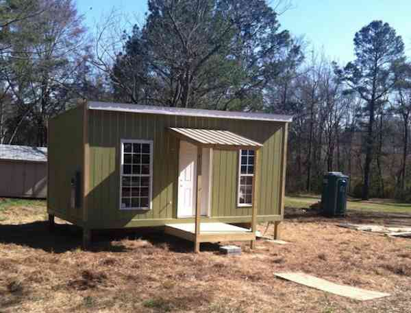 Town Builds Tiny House for Homeless Outcast Good News Network