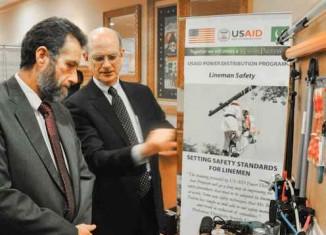 training program by USAID saves Pakistani linemen