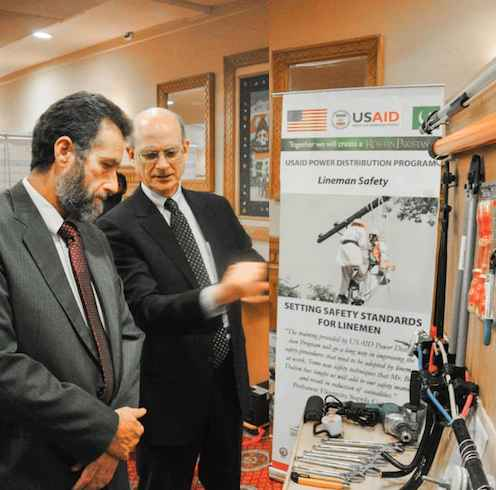training program by USAID saves Pakistani linemen