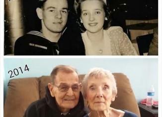 Myers' 70th anniversary- family photos