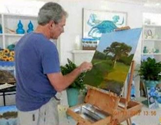 Bush_painting-family-photo