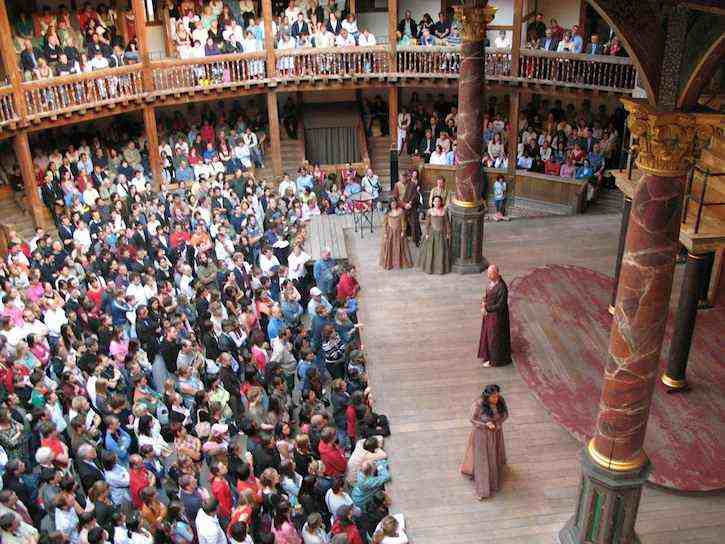 Globe_theater_Shakespeare_play-London-2006