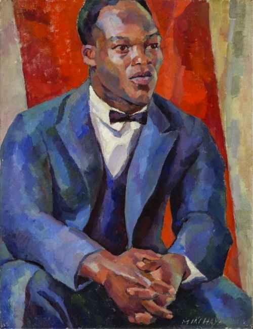 Portrait of a Negro (1926) Miki Hayakawa