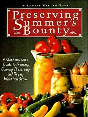 Preserving Summers Bounty-cover