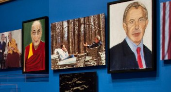 art_of_Dalai_tony_blair-BushLibrary