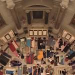 rotunda Natl Archives-sleeping bags