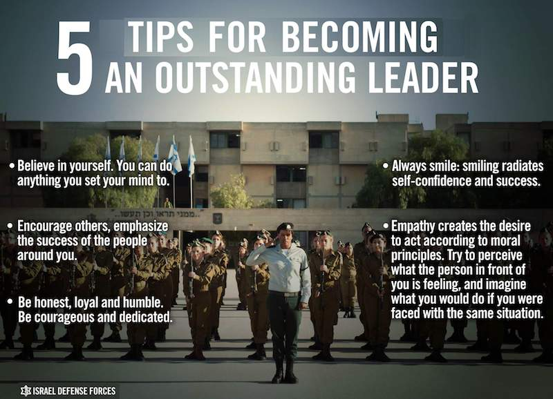 5-tips-for-becoming-a-leader-IDF