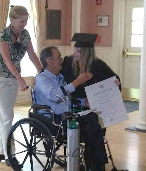 University_graduation_held_just_for_dying_father