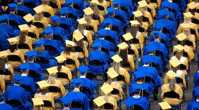 graduates-in-rows-blue-gold-Flickr-cc-Herkie