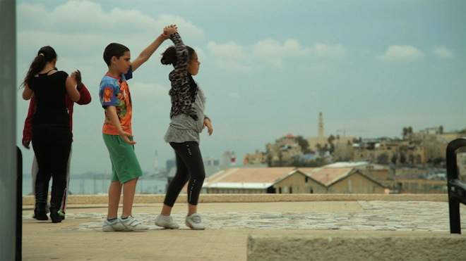 Dancing-in-Jaffa-rooftop-Israel