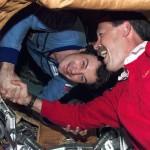 NASA-shuttle-astronaut-welcomed-aboard-Mir-first-time-NASA