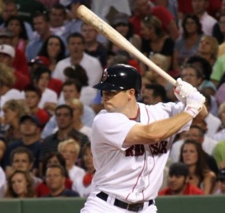 Red Sox baseball player Daniel Nava by Dan Leahy-cc-2010