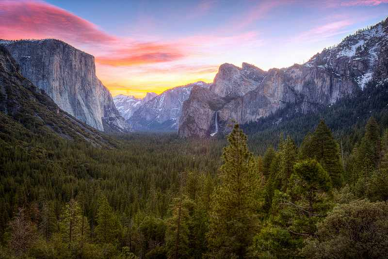 The World Spent $14B on Conservation and We Just Discovered How Well it Worked Yosemite_Valley-CC-SpreadTheMagic