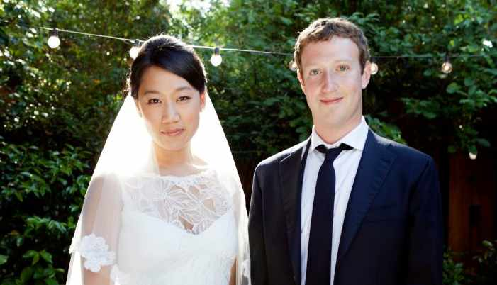 Mark Zuckerberg and Priscilla Chan - Photo by Noah Kalina