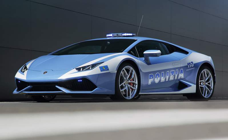 Photo Of The Day Lamborghini Donates Cars To Italian Police - Sports cars reddit