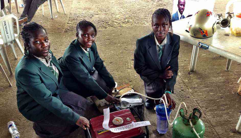African-girls-invent-urine-powered-device-Flickr-CC-MakerFaireAfrica