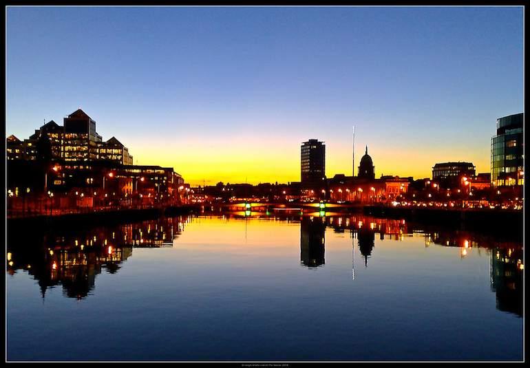 Liffey_River_sunset-Dublin-CC-Philip_Milne-770px