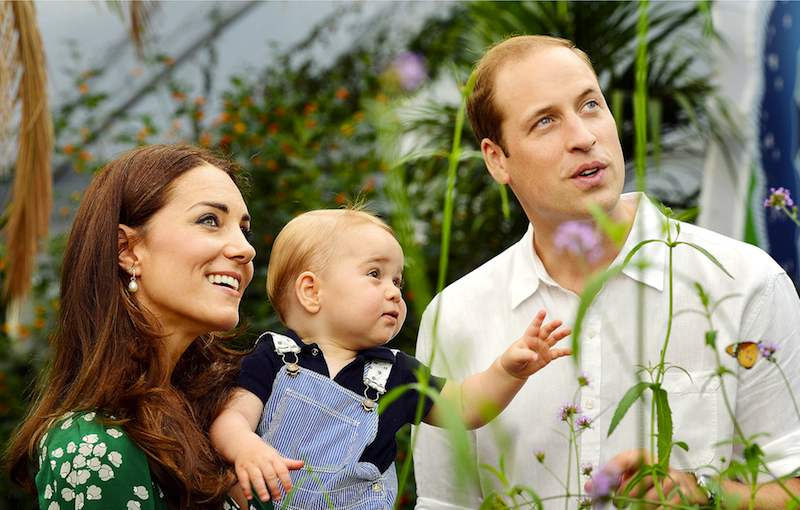 kate-middleton-prince-william-george-butterflies