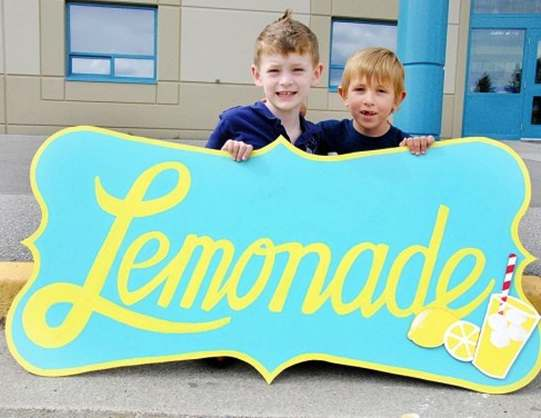 lemonade-sign-with-two-boys-YouCaring-campaign