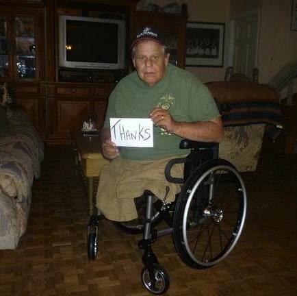 wheelchair-Vietnam-vet-thanks-hardware-store-employees-Michael Sulsona