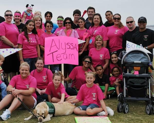 Alyssas_Team-San_Diego_Brain_Tumor_walk