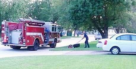 Baytown-TX-fire-department-mows-lawn-FBphoto-AshleyOdomChandler