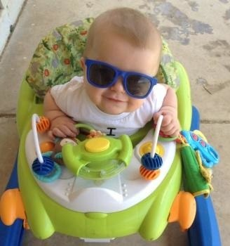 My son is too cool for summer, by Christine Wainscott