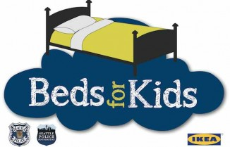 beds-for-kids-Ikea-Seattle-Police-logos