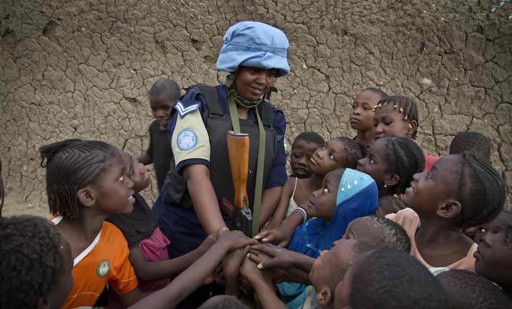 Rwanda UN Peacekeepers patrols in Gao, Mali